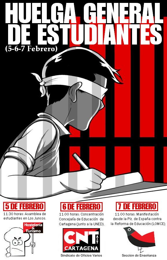 Huelga General Estudiantil - Cartagena