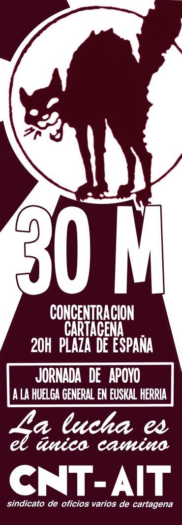 Concentración 30M Cartagena